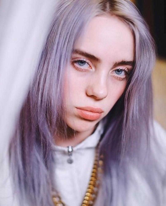Purple Aesthetic Wallpaper Billie Eilish