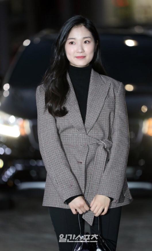 김혜윤 배우가 스카이캐슬 종방연에서