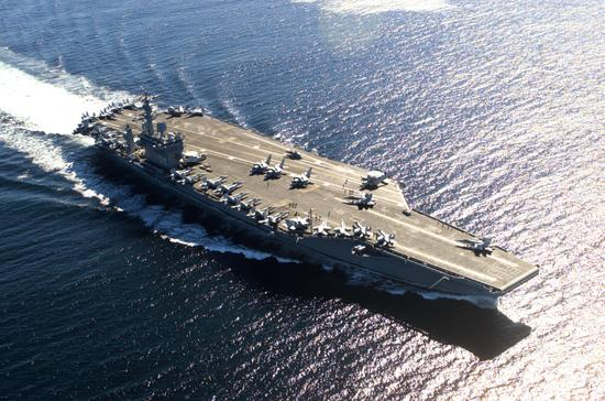 Iran Threatens To Torpedo US Aircraft Carriers 40954992 1200338932